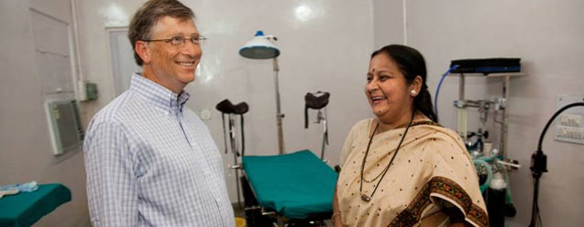 Bill Gates Says Lives of the Poor Have Improved