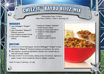 Kellogg's Recipes for the 'Big Game'
