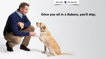 Subaru's Dog Tested, Dog Approved Commercials