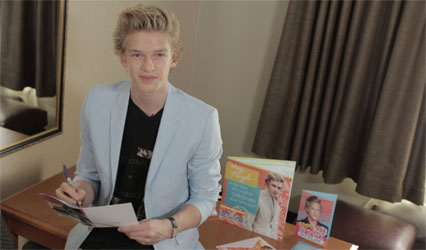 Cody Simpson Greeting Cards