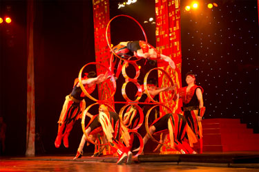 Cirque Shanghai, Mystic India at Dollywood Show