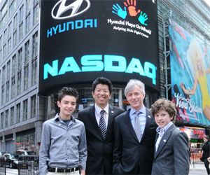 Hyundai Continues Fight against Pediatric Cancer