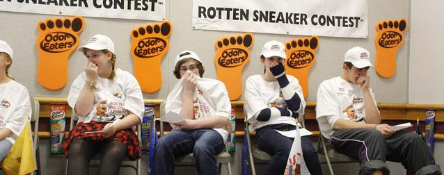 Rotten Sneaker Contest