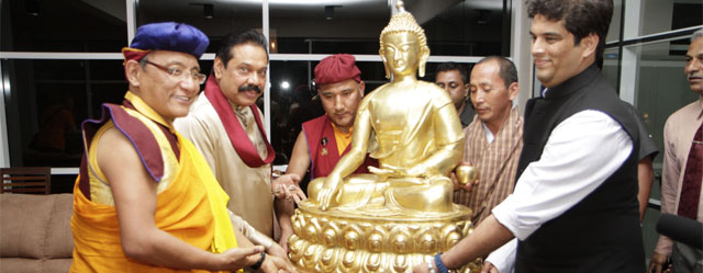 Buddha's Bone Relic