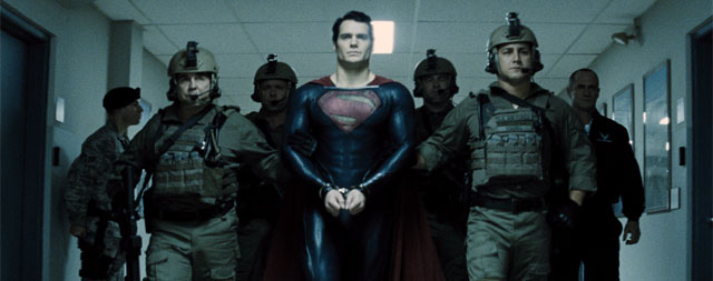 "Superman Fans to See ""Man of Steel"" First"