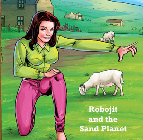 Robojit and the Sand Planet