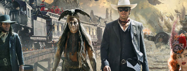"World Premiere for Disney's ""The Lone Ranger"""