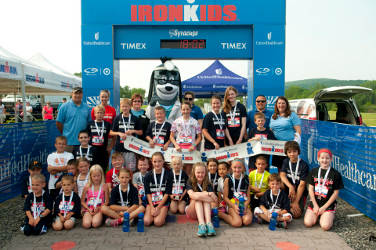 Ironman Races to Combat Childhood Obesity