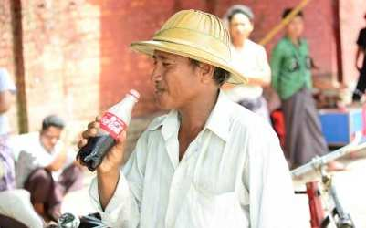 Coca-Cola in Myanmar