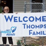 Welcoming Hurricane Sandy Families Home
