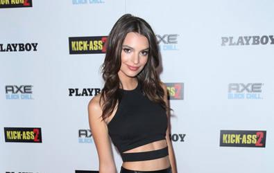 Supermodel Emily Ratajkowski