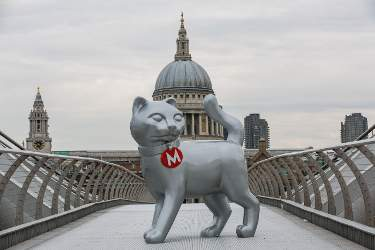 Giant Monopoly Cat Spotted in London