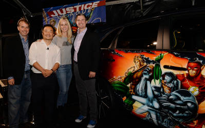 Justice League Car