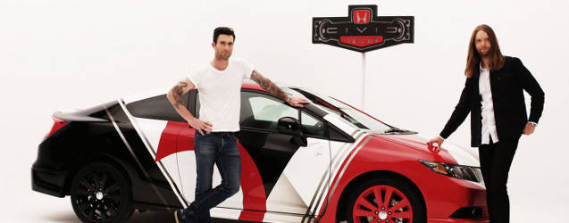 Honda Civic Tour to Begin with Maroon 5
