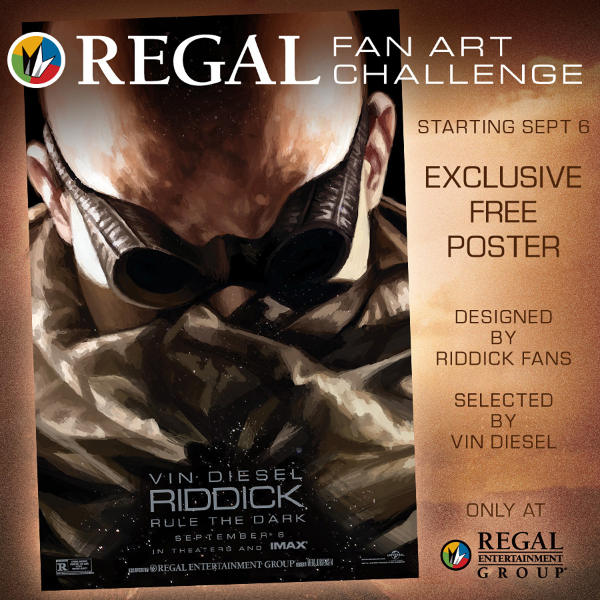 Vin Diesel Picks Riddick Fan Art Winner