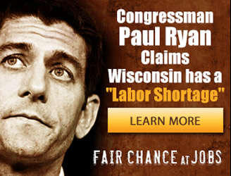 Ads Question Ryan's Claim of Labor Shortage