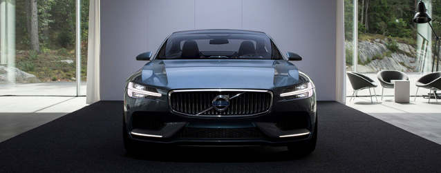 Volvo Reveals Design for Concept Coupé