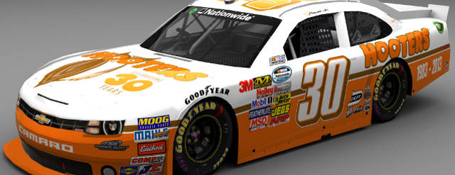 Hooters to Sponsor Nelson Piquet at NASCAR