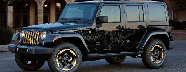 Jeep 2014 Wrangler Dragon Edition