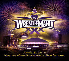 Wrestlemania 30 at the mercedes benz superdome for Mercedes benz superdome wrestlemania 30