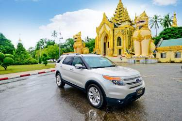 Ford Celebrates Opening of First Myanmar Dealership