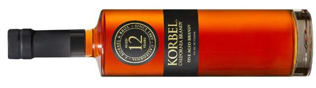 Korbel 12: Handcrafted California Brandy