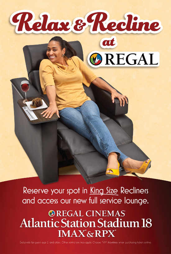 King Size Recliners at Regal