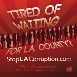 AHF Launches 'Stop L.A. Corruption' Campaign