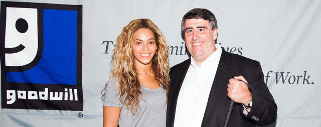Beyoncé and Goodwill Partner to Create Jobs