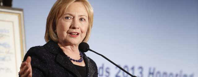Hillary Clinton Honored for U.S.-Mexico Partnerships