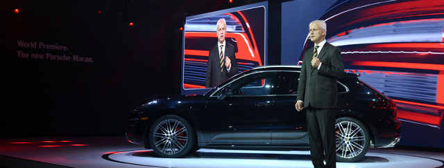 Porsche Macan World Debut at LA Auto Show