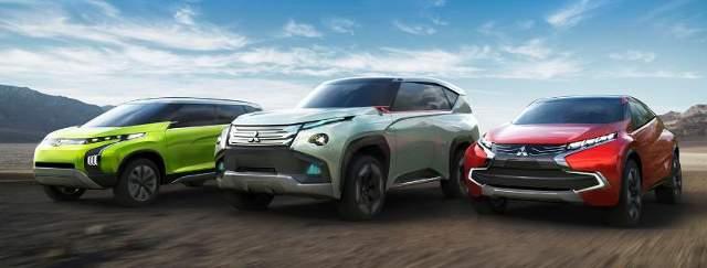 Mitsubishi Lineup for the Tokyo Motor Show