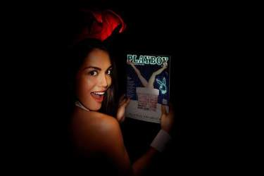 Playboy Magazine to Glow In The Dark