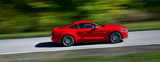Ford Mustang Marks 50 Years with New Design