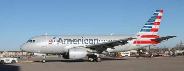First US Airways Aircraft in American Airlines Livery