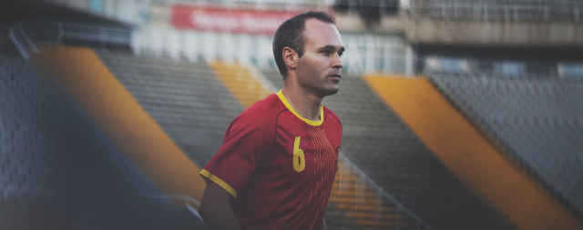 Andrés Iniesta for FIFA World Cup