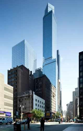 "Marriott's ""Tallest"" Hotel in New York City"