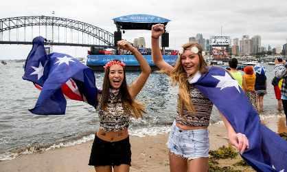 Australia Day in Sydney
