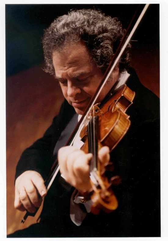 Violin virtuoso Itzhak Perlman