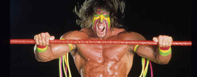 The Ultimate Warrior in WWE Hall of Fame