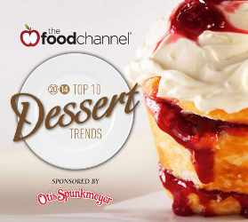 Food Channel Reveals Top 10 Dessert Trends