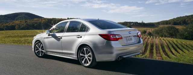 Subaru Introduces All-new 2015 Legacy Sedan