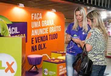 OLX Kiosks in Brazil