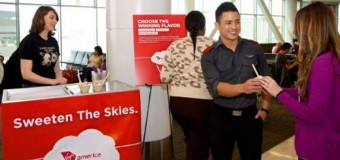 Virgin America Introduces New Food Service