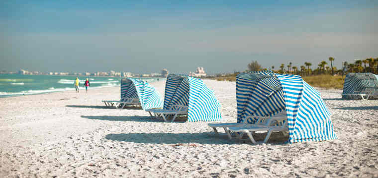 The 2014 TripAdvisor Travelers' Choice Awards for Beaches named Saint Pete Beach in Saint Pete Beach, Florida among the top beaches in the U.S.