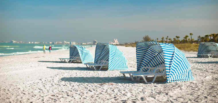 The 2014 TripAdvisor Travelers' Choice Awards for Beaches named Saint Pete Beach in Saint Pete Beach, Florida among the top beaches in the U.S.