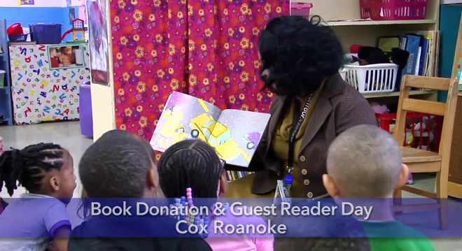 Cox Donates Books to Preschools