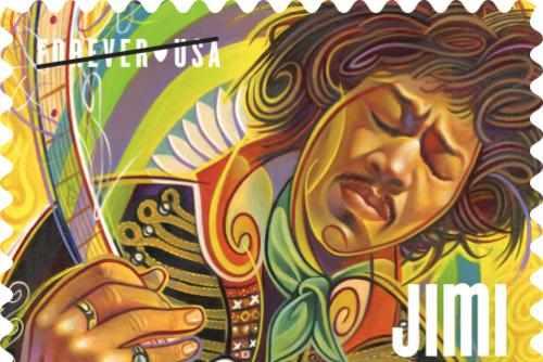 Guitarist Jimi Hendrix