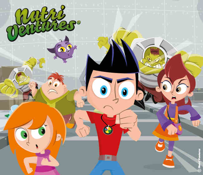 Nutri Ventures Animated Series