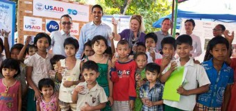 P&G Provides Clean Drinking Water in Myanmar